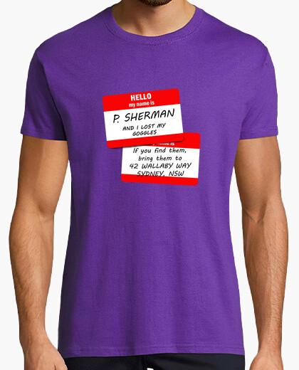 Camiseta My name is P. Sherman H