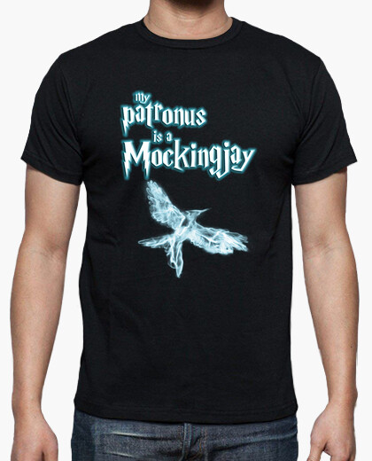 My patronus is a mockingjay t-shirt