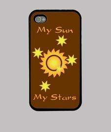 My Sun My Stars (Funda iPhone 4)