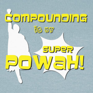 Camisetas My superpowah - Blanco