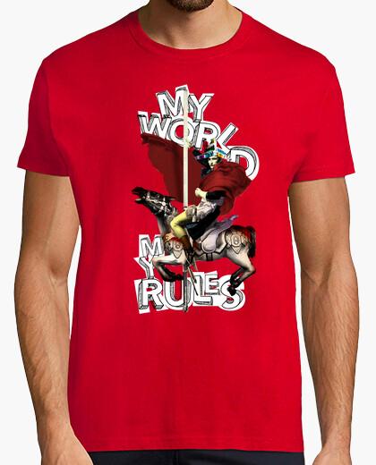 My world, my rules. (napoleon) t-shirt