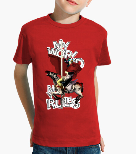 My world my rules napoleon children's clothes