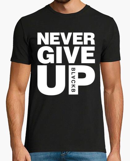 Tee-shirt n39abandonne jamais salah liverpool