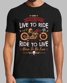n39arrête jamais vivre pour rouler mont