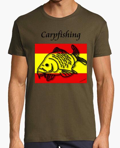Camiseta nº 23. carpfishing españa. hombre