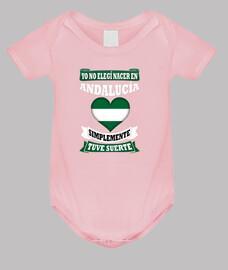 Nacer en Andalucía Tuve Suerte