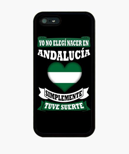 Funda iPhone Nacer en Andalucía Tuve Suerte