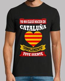 Nacer en Cataluña Tuve Suerte