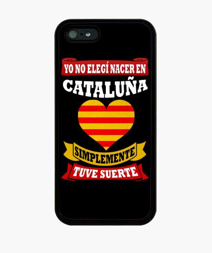 Funda iPhone Nacer en Cataluña Tuve Suerte