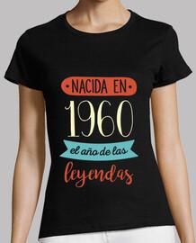Nacida en 1960, el Año de las Leyendas