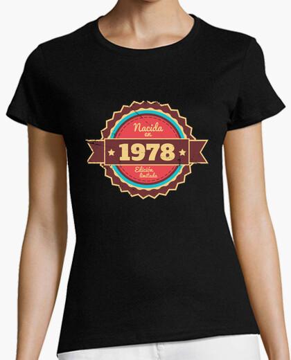 Camiseta Nacida en 1978, Edición Limitada, 42 años