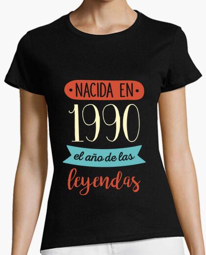 Camiseta Nacida en 1990, el Año de las Leyendas