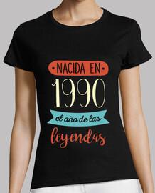 Nacida en 1990, el Año de las Leyendas