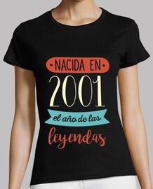 Nacida en 2001, El Año De Las Leyendas