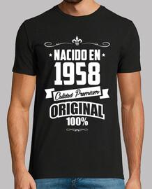 Nacido en 1958, Calidad Premium, 61 años