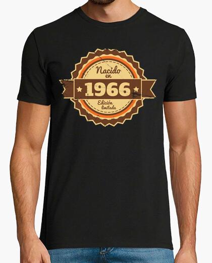 Camiseta Nacido en 1966, Edición Limitada, 53 años