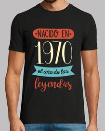 Nacido en 1970 el Año de las Leyendas