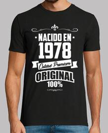 Nacido en 1978, Calidad Premium, 42 años