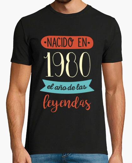 Camiseta Nacido en 1980, el Año de las...