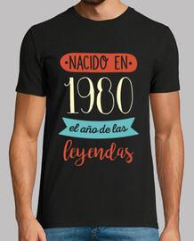 Nacido en 1980, el Año de las Leyendas