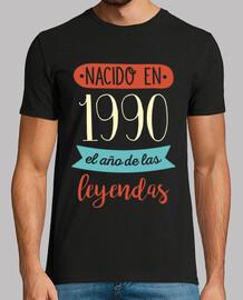 Nacido en 1990, el Año de las Leyendas