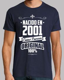 Nacido en 2001, Calidad Premium, Origin