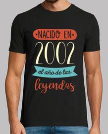Nacido en 2002, el Año de las Leyendas