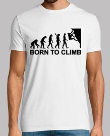 nacido evolución de la escalada