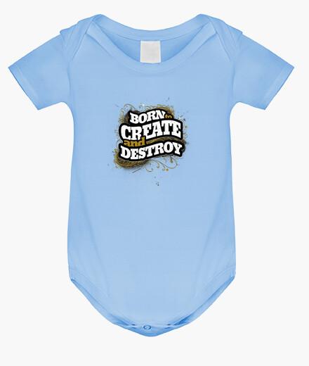 Ropa infantil nacido para crear y destruir