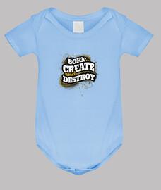 nacido para crear y destruir