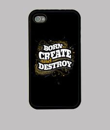 Nacido para crear y destruir 4/4s iphone