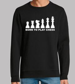 nacido para jugar al ajedrez