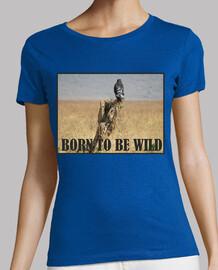 nacido para ser wild_t-camisa de corte estándar