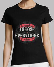 nada que perder mujer teeshirt