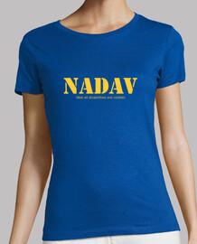 NADAV discapacidad invisible Camiseta manga corta mujer