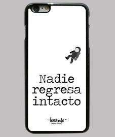 Nadie regresa intacto- Funda iPhone 6 Plus, negra