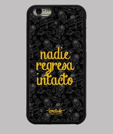 Nadie regresa intacto - Funda iPhone 6, negra
