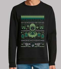 Nadie te oirá gritar feo suéter