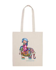 nalini el pequeño hindú y bali el elefa