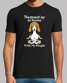 Namastay at Home With My Beagle
