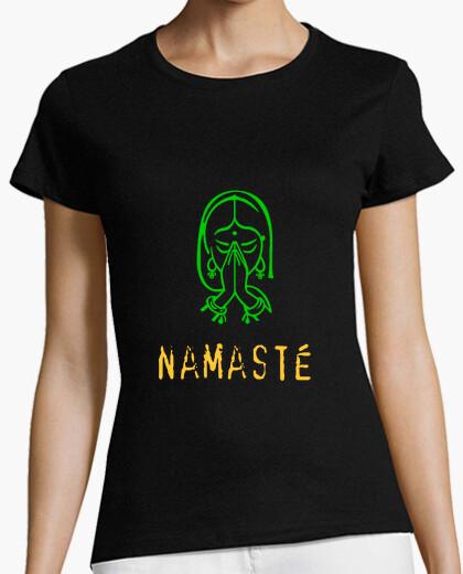Camiseta Namaste chica
