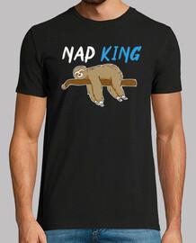 Nap King Sloth Lovers