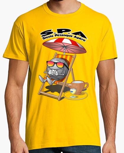 Nap pétanque aperitif t-shirt