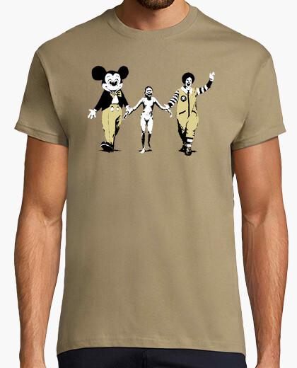 Camiseta Napalm - Banksy