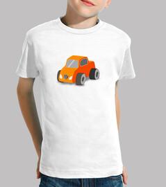 naranja coche