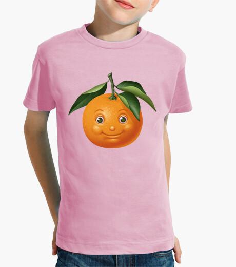 Ropa infantil Naranja divertida