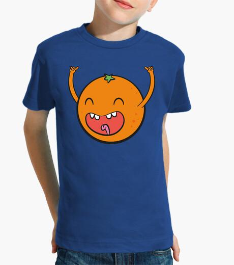 Ropa infantil Naranja feliz