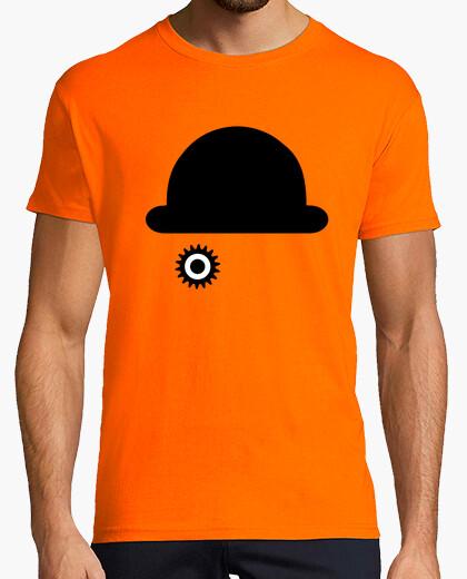 Camiseta Naranja Mecánica - mc chico
