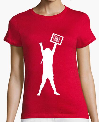 Camiseta naranja solidaria chica - La...