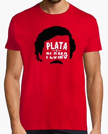 Tee-shirt Narcos - Plata o Plomo